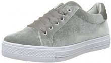 MOLLY BRACKEN Sneakers Velours, Sneaker Donna, Grigio (Grey), 39 EU