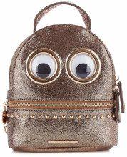 Mini Zaino Eyes mini backpack Intuito Bronze