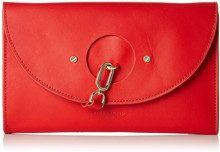 Liebeskind Berlin ClutchS - RndFlp, Sacchetto Donna, Rosso (Rosso (liebeskind red 3126)), 4x19x27 cm (B x H x T)