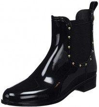 Gioseppo 46292-p, Stivali di Gomma Donna, Nero Negro, 38 EU