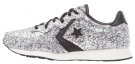 AUCKLAND RACER OX GLITTER - Sneakers basse - silver/black/snow white