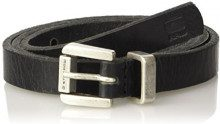 G-STAR RAW Claro Belt Wmn, Cintura Donna, Nero (Black/Antic Silvr 8131), 85