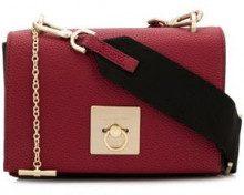 - Calvin Klein - flap crossbody bag - women - Polyurethane - Taglia Unica - di colore rosso