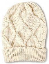 Street One Uni Knitted Hat, Berretto in Maglia Donna, Weiß (off White 10108), Taglia Unica