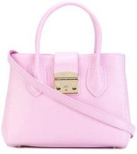 - Furla - Metropolis tote - women - viscose/Leather/Nylon - Taglia Unica - Rosa & viola