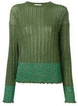 - L'Autre Chose - Maglione a coste - women - fibra sintetica - M, S - di colore verde
