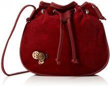 Joe Browns Funky Freestyle Button Bag - Pochette da giorno Donna, Rosso (Red), 3.5x22.5x22 cm (W x H L)