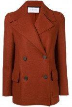 - Harris Wharf London - double breasted jacket - women - lana vergine - 40, 44, 46, 42 - color marrone
