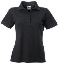 James & Nicholson - Polo Ladies Workwear, Polo Donna, Nero (Black), XXX-Large (Taglia Produttore: XXX-Large)