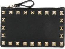 - Valentino - Porta monete 'Valentino Garavani' - women - pelle - Taglia Unica - di colore nero