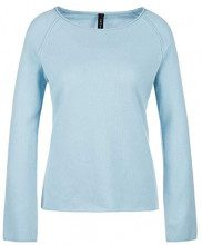 Marc Cain Collections KC 41.61 M81, Maglione Donna, Blu (Seaview 318), 46