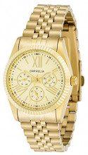 Orphelia 82506 - Orologio da polso donna, acciaio inox, colore: oro