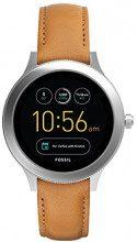Fossil Smartwatch Digitale da Donna con Cinturino in Pelle FTW6007