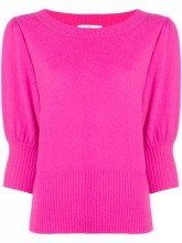 - Allude - Maglione a girocollo - women - cashmere/lana vergine - L - di colore rosa