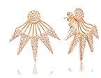 Ingenious Jewellery Donna  925  argento Rotonda   trasparente Zirconia cubica FINEEARRING