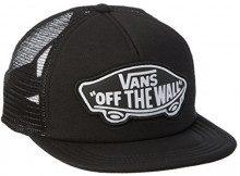 Vans Beach Trucker Hat, Berretto da Baseball Donna, Nero (Onyx-White Kr6), Unica (Taglia Produttore: OS)