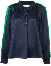 - Tibi - Blusa - women - fibra sintetica - S - di colore blu