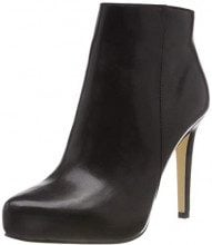 Buffalo Whisper Nappa Leather, Stivaletti Donna, Nero (Black 01 00), 39 EU