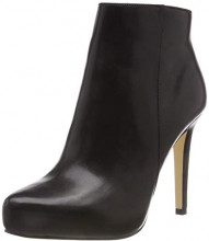 Buffalo Whisper Nappa Leather, Stivaletti Donna, Nero (Black 01 00), 41 EU