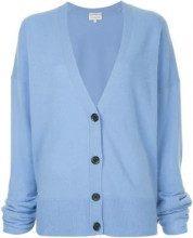- Ck Calvin Klein - Cardigan ampio - women - cashmere - M - di colore blu