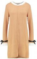 Vestito di maglia - camel