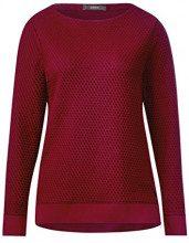 Cecil 311609, Maglione Donna, Rosso (Cranberry Red 21088), Large