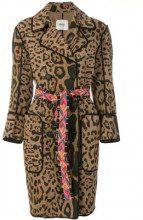 - Bazar Deluxe - Cappotto doppio petto - women - cotone/fibra sintetica - 44, 46, 40 - color marrone