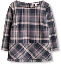 ESPRIT 116EE1F028, Camicia Donna, Multicolore (Dark Grey), 38