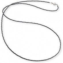 Engelsrufer Collana Ematite argento sterlina 925 lunghezza 80cm (31,50
