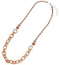 Schmuck-Art 28606 - Collana da donna, palladio
