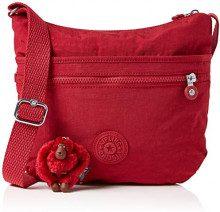Kipling Arto - Borse a tracolla Donna, Rosso (Radiant Red C), 4x29x26 cm (B x H T)
