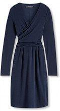 ESPRIT 106eo1e014-Regular Fit, Vestito Donna, Blu (Navy), 42 (Taglia Produttore: X-Large)