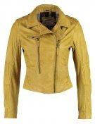 Giacca di pelle - jaune