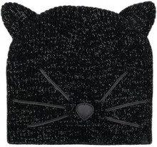 - Karl Lagerfeld - Berretto Choupette - women - fibra sintetica/lana - Taglia Unica - di colore nero