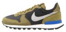 INTERNATIONALIST PREMIUM - Sneakers basse - black/matte silver/olive flake/summit white