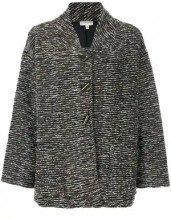 - Krizia Vintage - Cappotto 'Krizia' - women - fibra sintetica/lana - 42 - multicolore
