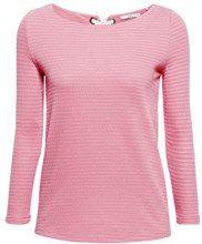 edc by Esprit 088cc1k052, Maglia a Maniche Lunghe Donna, Rosa (Dark Old Pink 675), X-Small