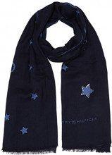 Tommy Hilfiger Star Sequins, Cappello in felto Donna, Blu Navy 413, Unica (Taglia Produttore: OS)