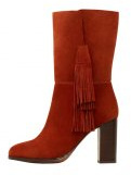Stivaletti con i tacchi - burnt orange