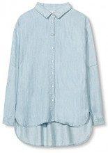 ESPRIT 017ee1f012, Camicia Donna, Blu (Pastel Blue), 42