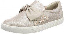 MARCO TOZZI 24710, Sneaker Infilare Donna, Rosa (Rose Met. Comb), 42 EU