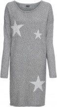 Abito in maglia con stelle