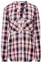 edc by Esprit 098cc1f010, Camicia Donna, Bianco (off White 2 111), Medium