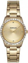 MORGAN Orologio Data Standard Quarzo da Donna con Cinturino in Acciaio Inox MG 005S-1EM