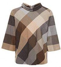 ESPRIT Collection 108eo1f015, Camicia Donna, Grigio (Grey 030), 46 (Taglia Produttore: 40)