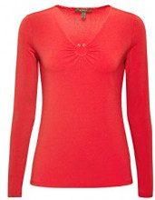 ESPRIT Collection 108eo1k003, Maglia a Maniche Lunghe Donna, Rosso (Red 630), Small