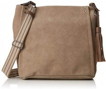 Tom Tailor 24038, Borsa a tracolla Donna, Beige (Beige (taupe 21)), 15x32x37 cm (B x H x T)