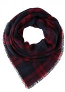 Foulard - blue/bordeaux