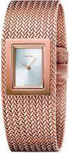 Calvin Klein Orologio Analogico Quarzo Donna con Cinturino in Acciaio Inox K5L13636