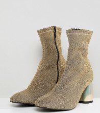 Spectrum - Stivaletti glitter a calza